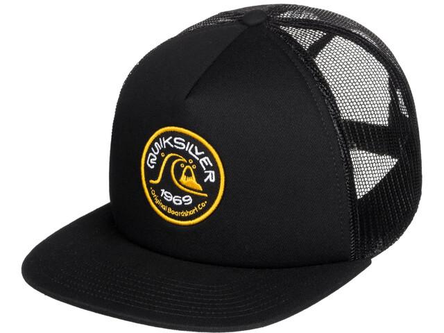 Quiksilver Broacher Trucker Hat Men, black